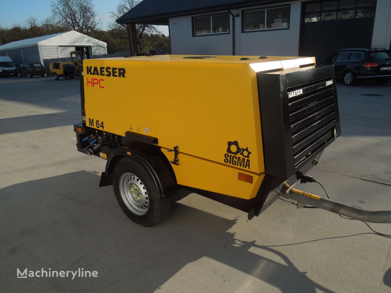 KAESER M64 compressor