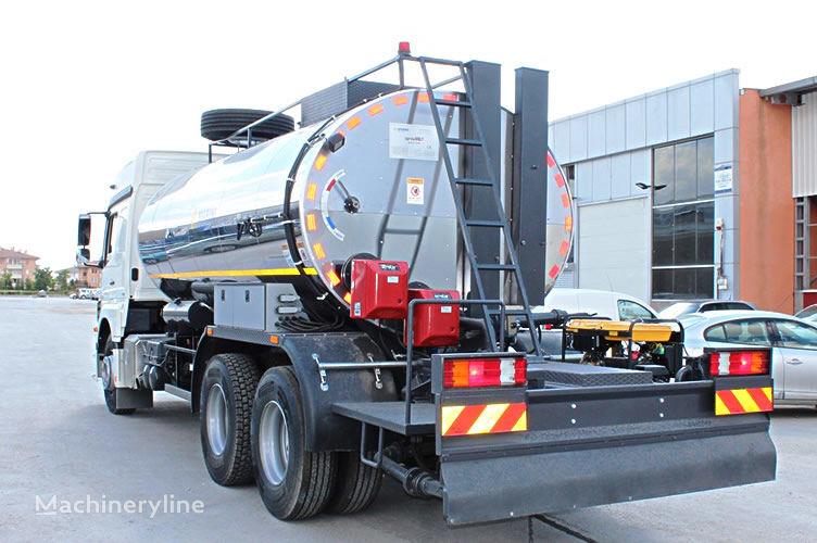 new MARINI SprayFALT avtogudronator 14 m3 asphalt distributor