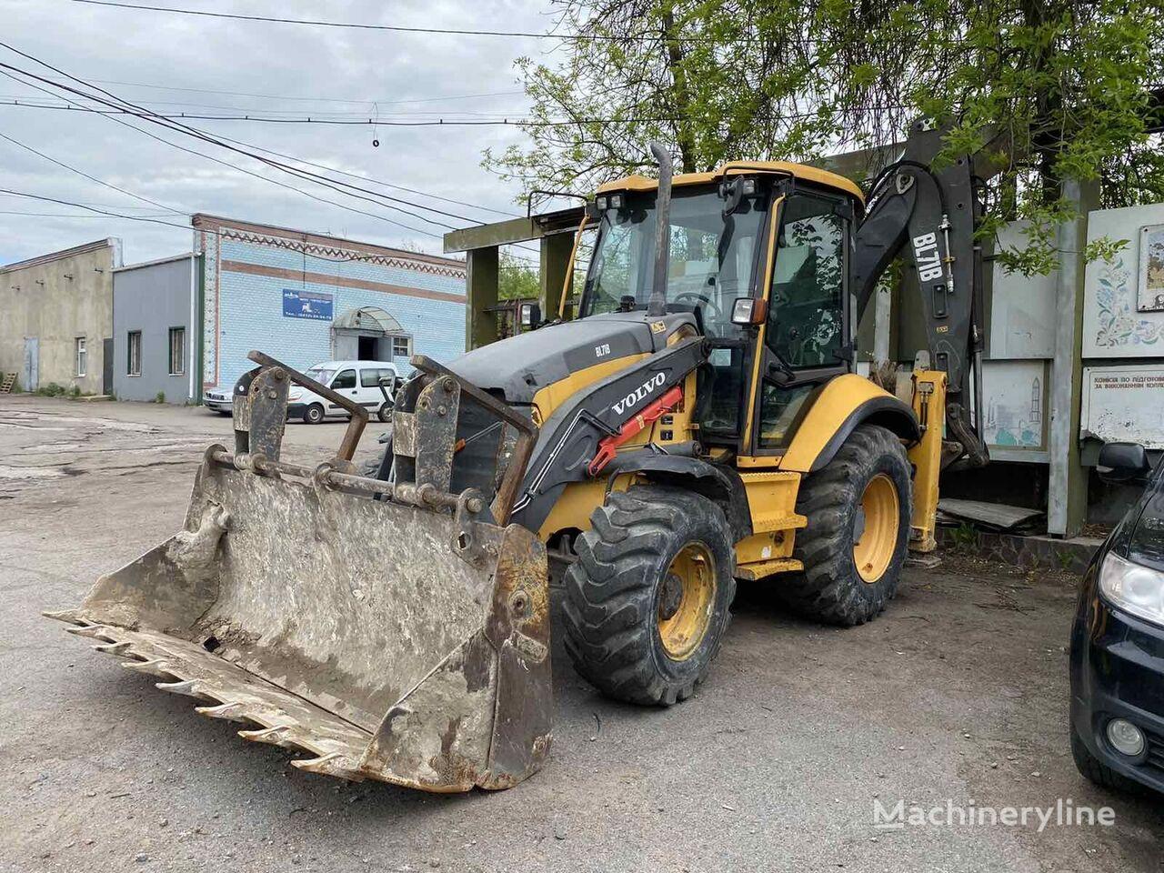 VOLVO BL 71 backhoe loader