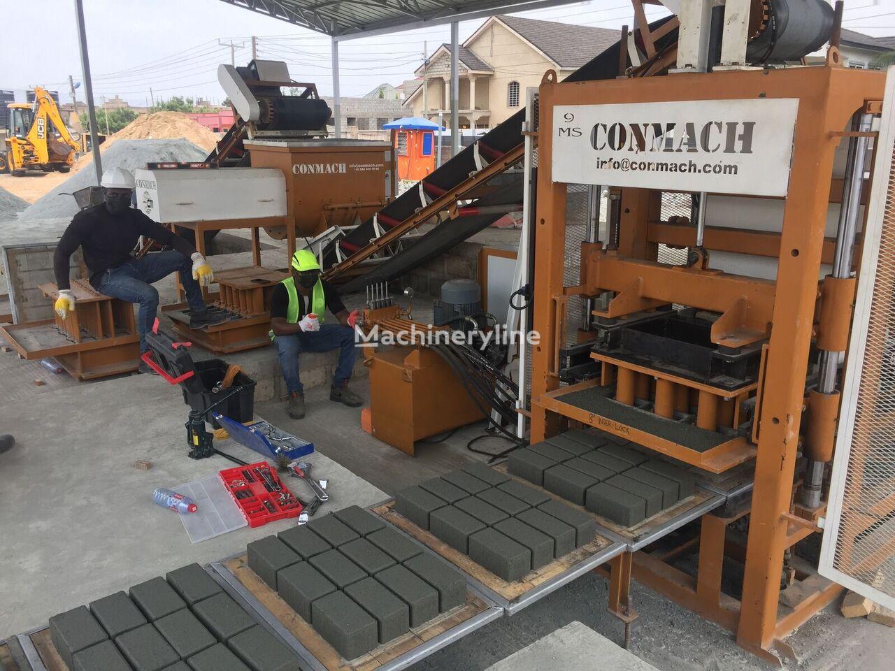 new CONMACH BlockKing-09 MS block making machine