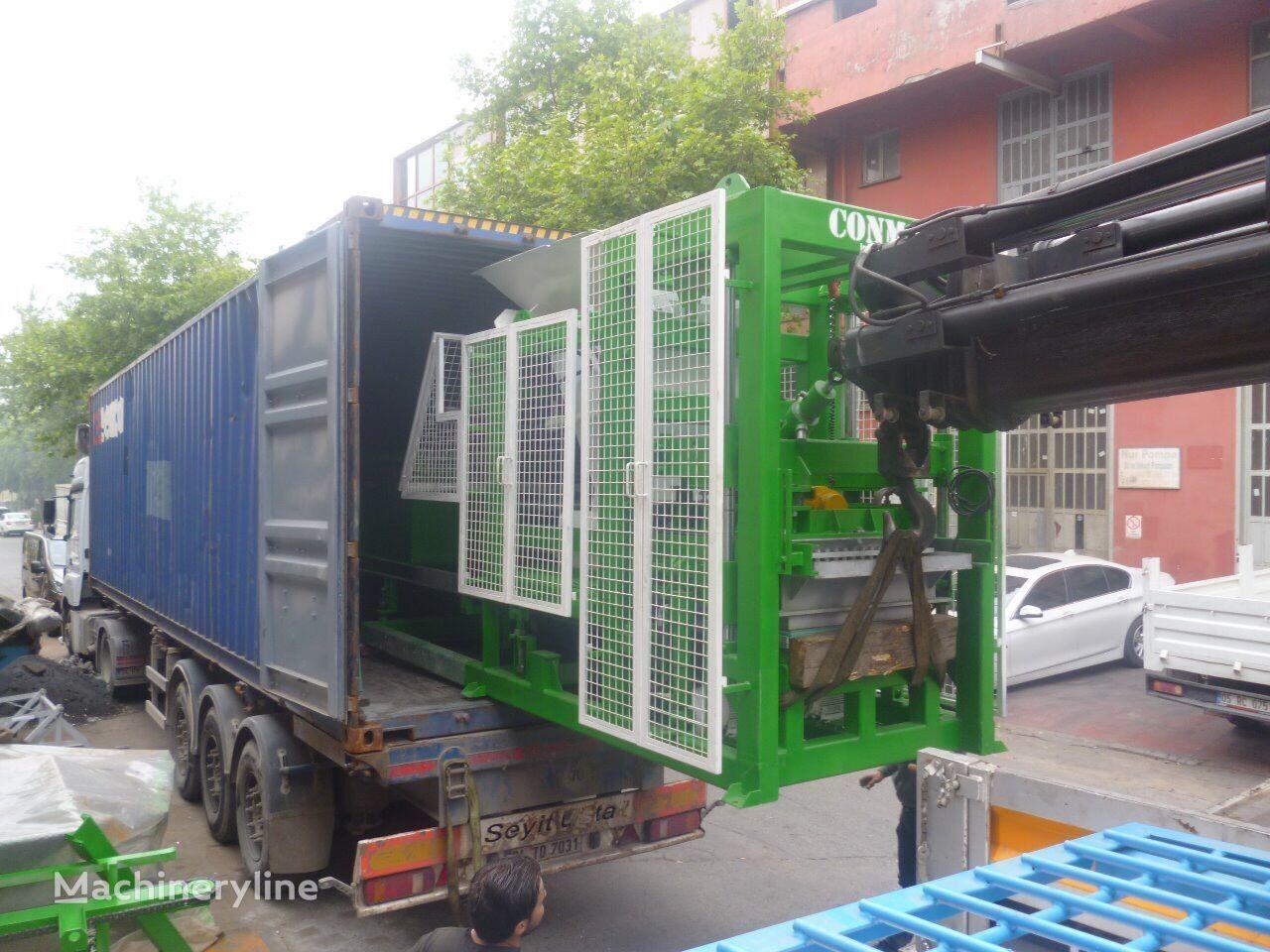 new CONMACH BlockKing-20 MS block making machine