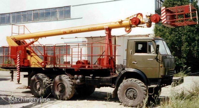 new KAMAZ TV-32 bucket truck