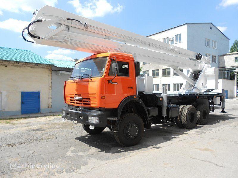 new KAMAZ VS-32  bucket truck