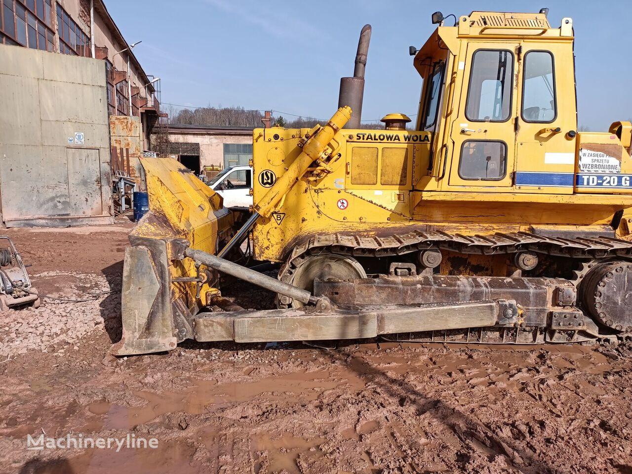 STALOWA Wola DT20G 2009 rok 7300mtg 24 Tony TD- 20 G bulldozer