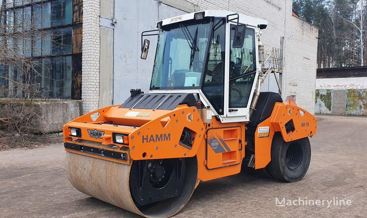 HAMM HD 75.4k combination roller
