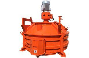 new SEMIX  Planetary Mixer 1 m³/ 2 m³ concrete mixer
