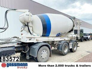 concrete mixer semi-trailer