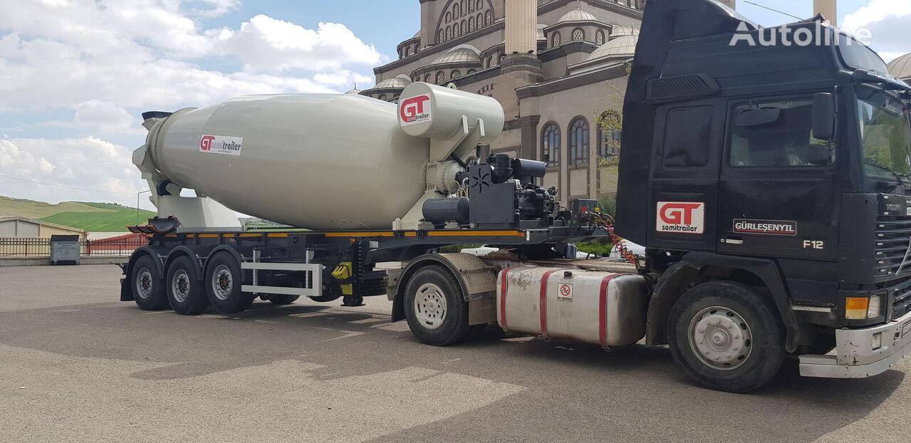 new GURLESENYIL concrete mixer semi-trailer