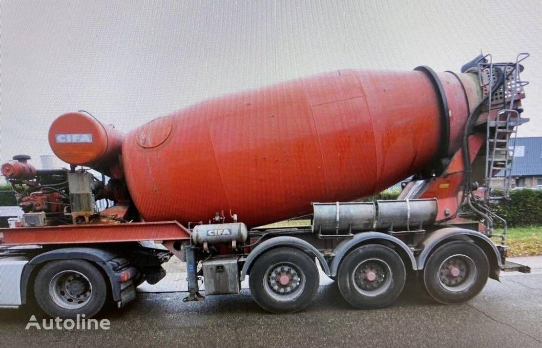MOL concrete mixer semi-trailer