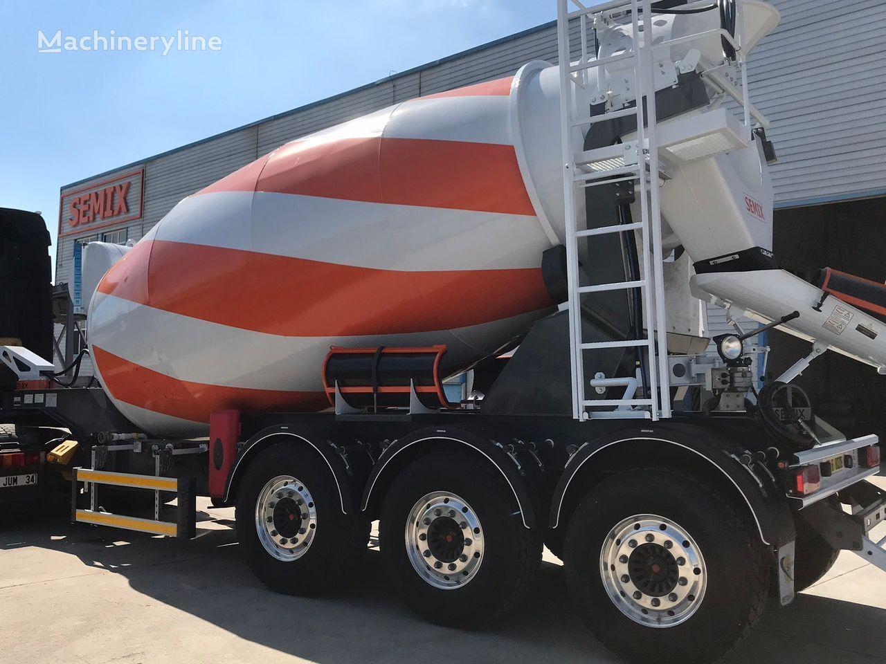 new SEMIX Semi Remorque 12 m³ concrete mixer semi-trailer