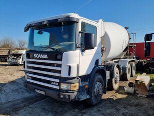 SCANIA P 114 concrete mixer truck