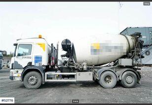 SCANIA   P124 6X2 Liebherr/Volvo FM440 8x4+rynna 9mb concrete mixer truck