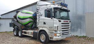 SCANIA R480 6x4 + 9m HYDRAULIC PIPE + EXTRA BOX concrete mixer truck