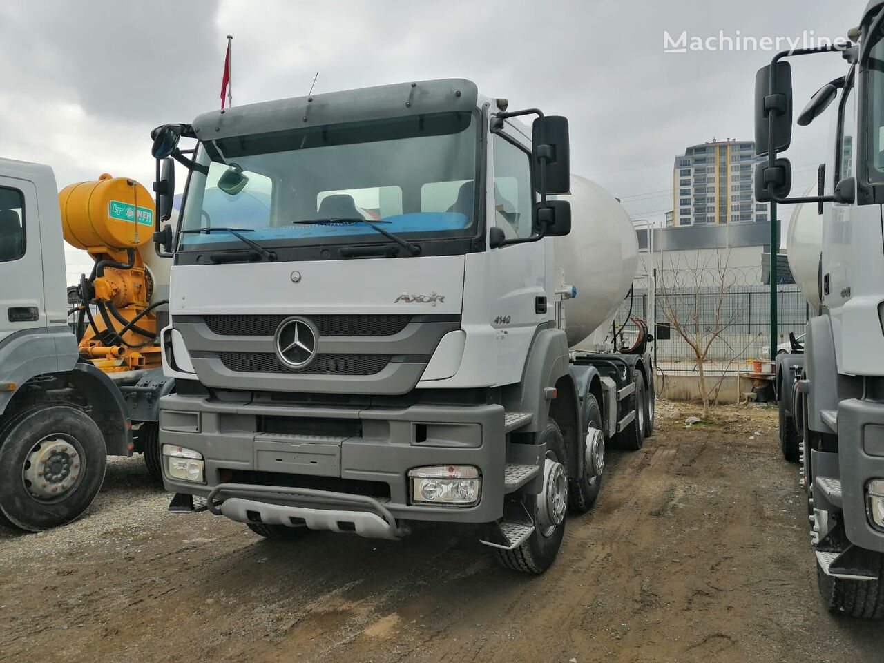 IMER Group  on chassis MERCEDES-BENZ 2014 concrete mixer truck