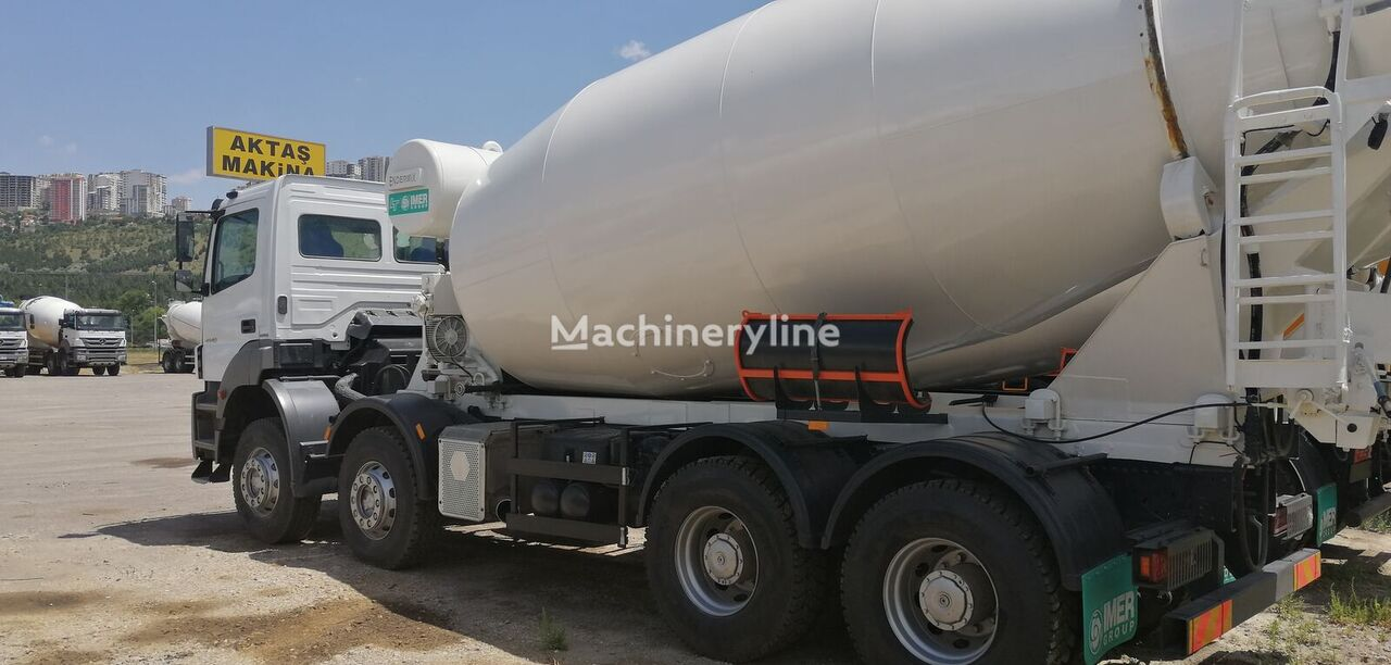 IMER-L&T 2015 on chassis MERCEDES-BENZ 2015 concrete mixer truck