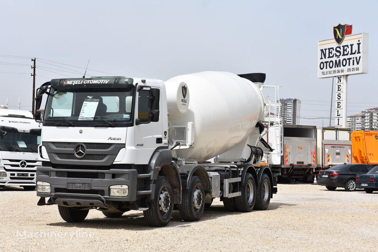 IMER Group 2016 on chassis MERCEDES-BENZ 2016 AXOR 4140 E5  A/C 8X4 CONCRETE MİXER concrete mixer truck