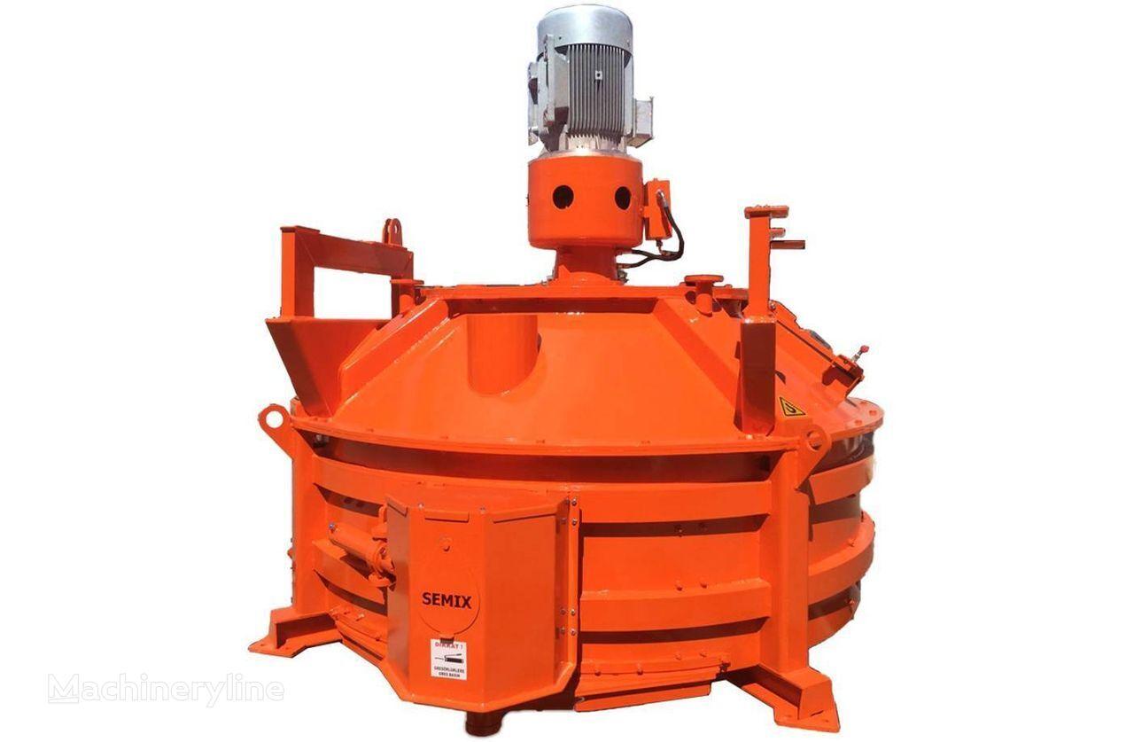 new SEMIX MALAXEUR PLANÉTAIRE 1 m³/ 2 m³  concrete mixer