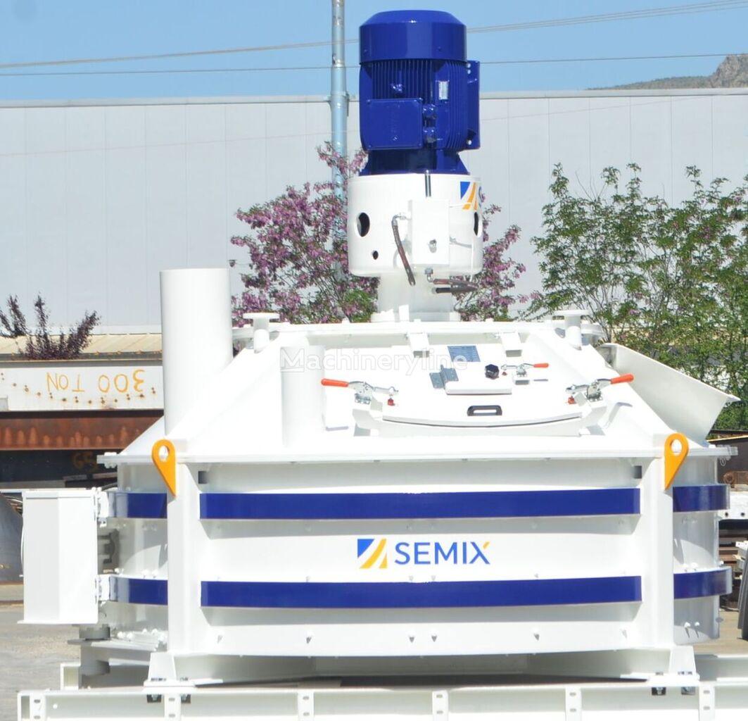new SEMIX MEZCLADOR PLANETARIO 1 m³/ 2 m³ concrete mixer