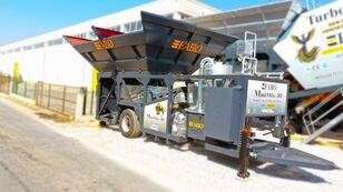 new FABO MINIMIX-30 MOBILE CONCRETE PLANT 30 M3/H READY IN STOCK  concrete plant
