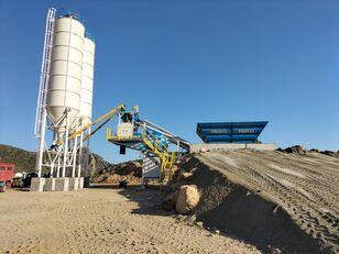 new PROMAX Mobile Concrete Batching Plant M60-SNG (60m3/h) concrete plant