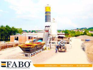 new FABO FABOMIX COMPACT-60 CONCRETE  PLANT   NEW PROJECT concrete plant