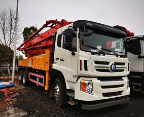 new Sany 37m X-4RZ Euro 5 on chassis HOWO concrete pump