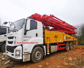 new Sany 57m X-6RZ Euro 5 on chassis ISUZU QL5350TZZW6TDZY concrete pump