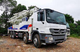 Zoomlion 48m X-6RZ 2011 Euro 3 on chassis MERCEDES-BENZ Actros 4141 concrete pump