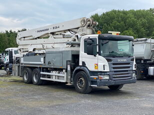 Putzmeister BSF36-4.14 H on chassis SCANIA P380 concrete pump