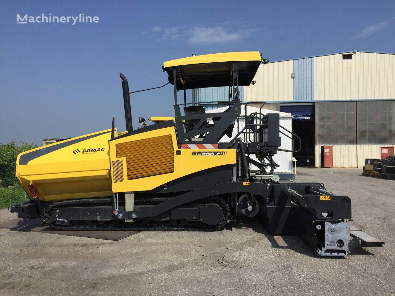 BOMAG BF 800 C S600  crawler asphalt paver