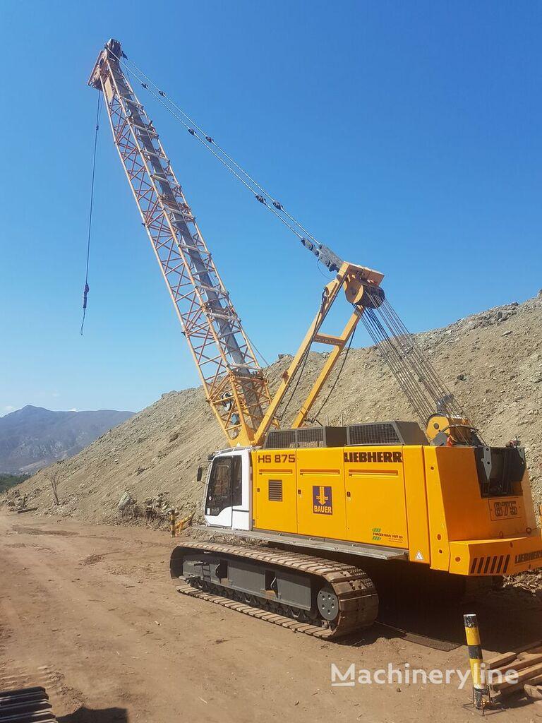 LIEBHERR HS-875-HD crawler crane