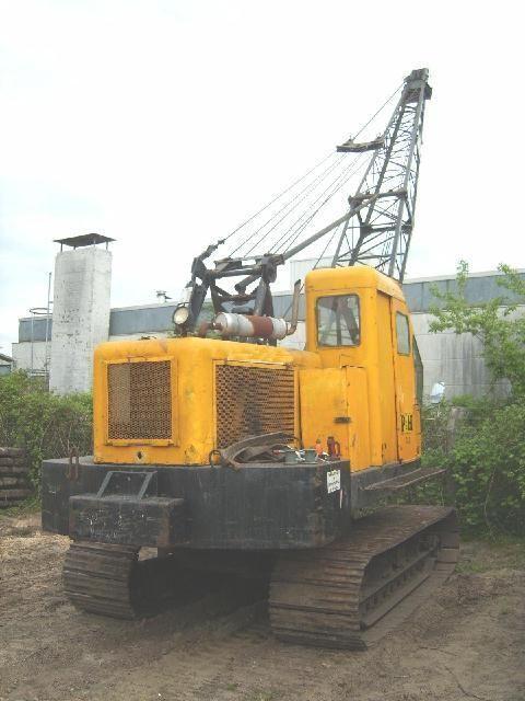 P&H 210 crawler crane