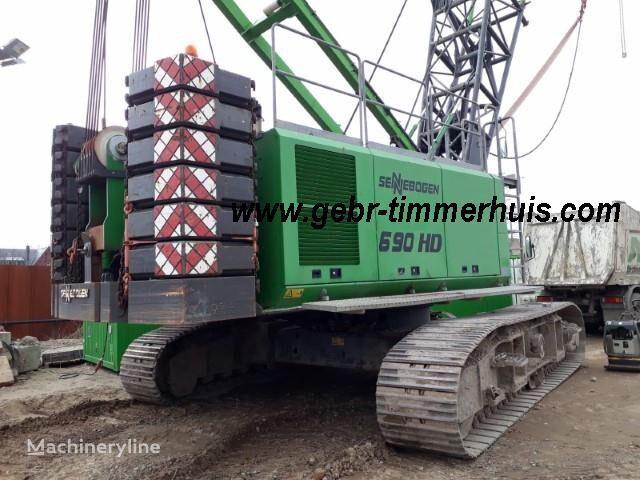 SENNEBOGEN S 690 R HD crawler crane