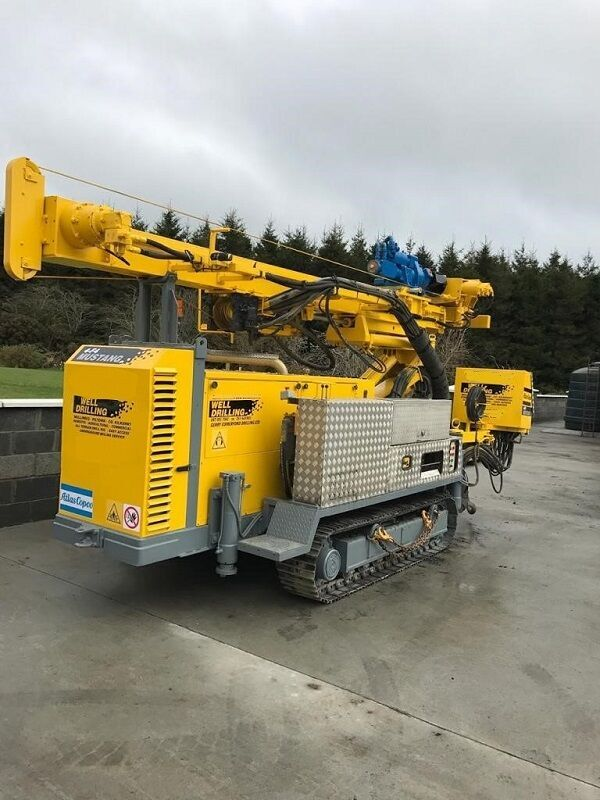 Atlas Copco Mustang 4-F4 drilling rig