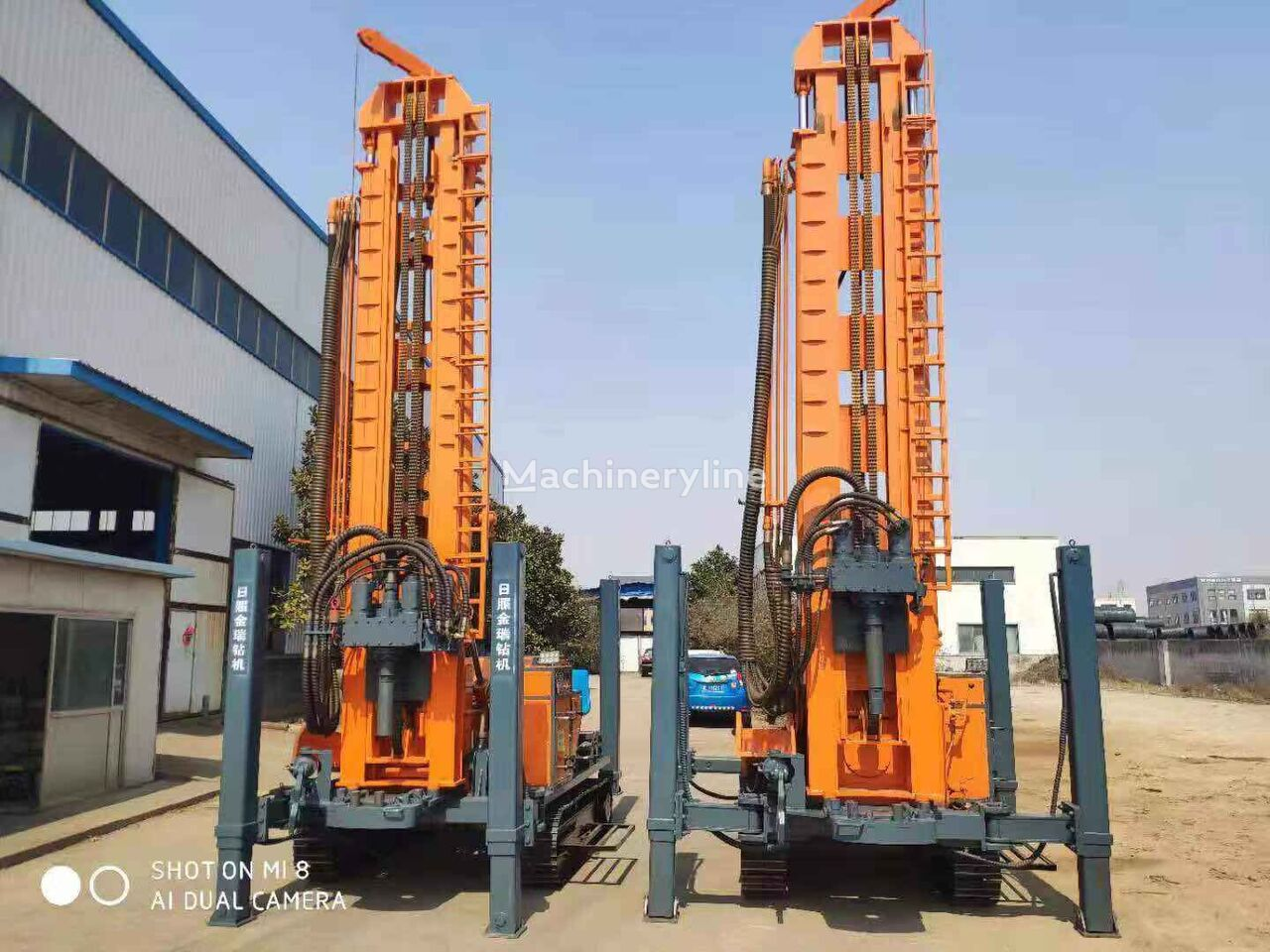 new SANROCK 100-300m water well drillig rig drilling rig