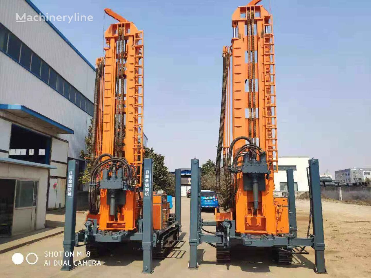 new SANROCK 180m---500m drilling rig