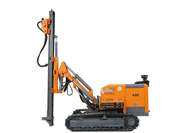 new SANROCK 30m SEPARATED DTH DRILL RIG drilling rig