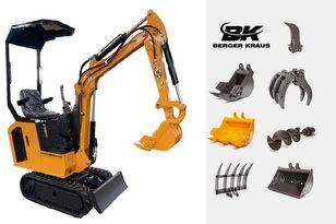 new BERGER KRAUS Mini Excavator BK800BS torsion arm with FULL equipment mini excavator