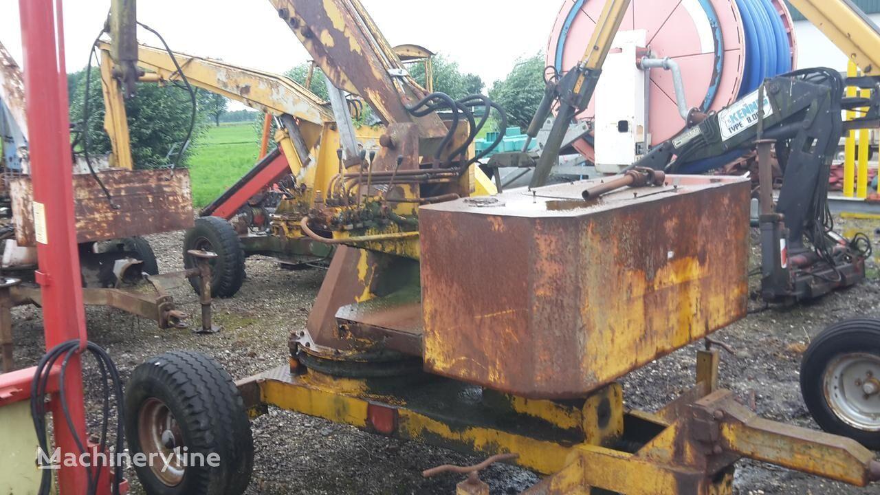 Bazzoly getrokken kraan mini excavator