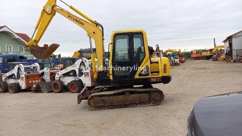 HYUNDAI R55 - 7 mini excavator
