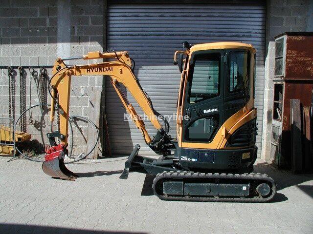 HYUNDAI Robex 25Z-9A mini excavator