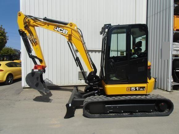JCB 51R-1 mini excavator