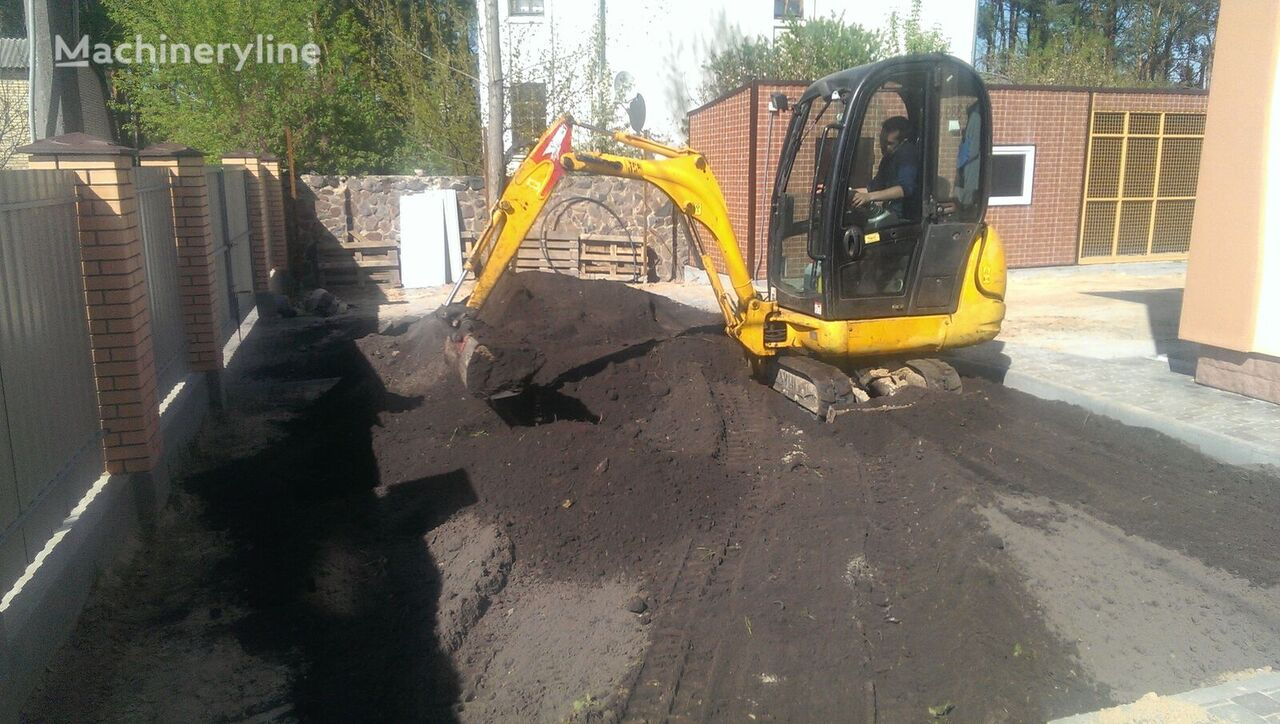 JCB 8014 mini excavator