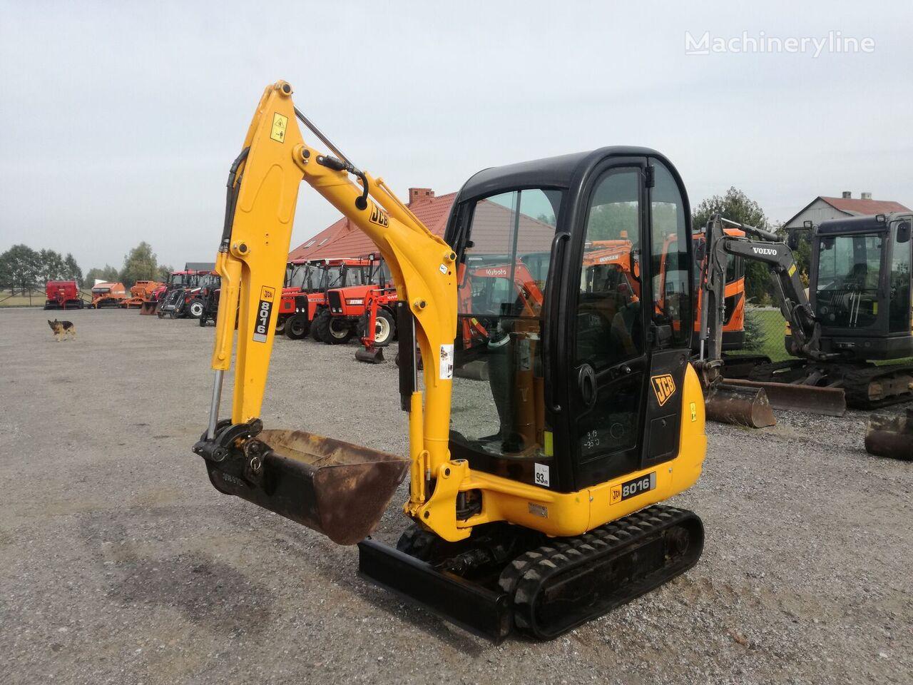 JCB 8016  mini excavator