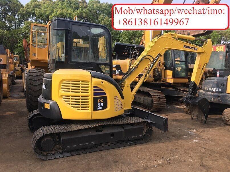 KOMATSU PC55MR-2 mini excavator