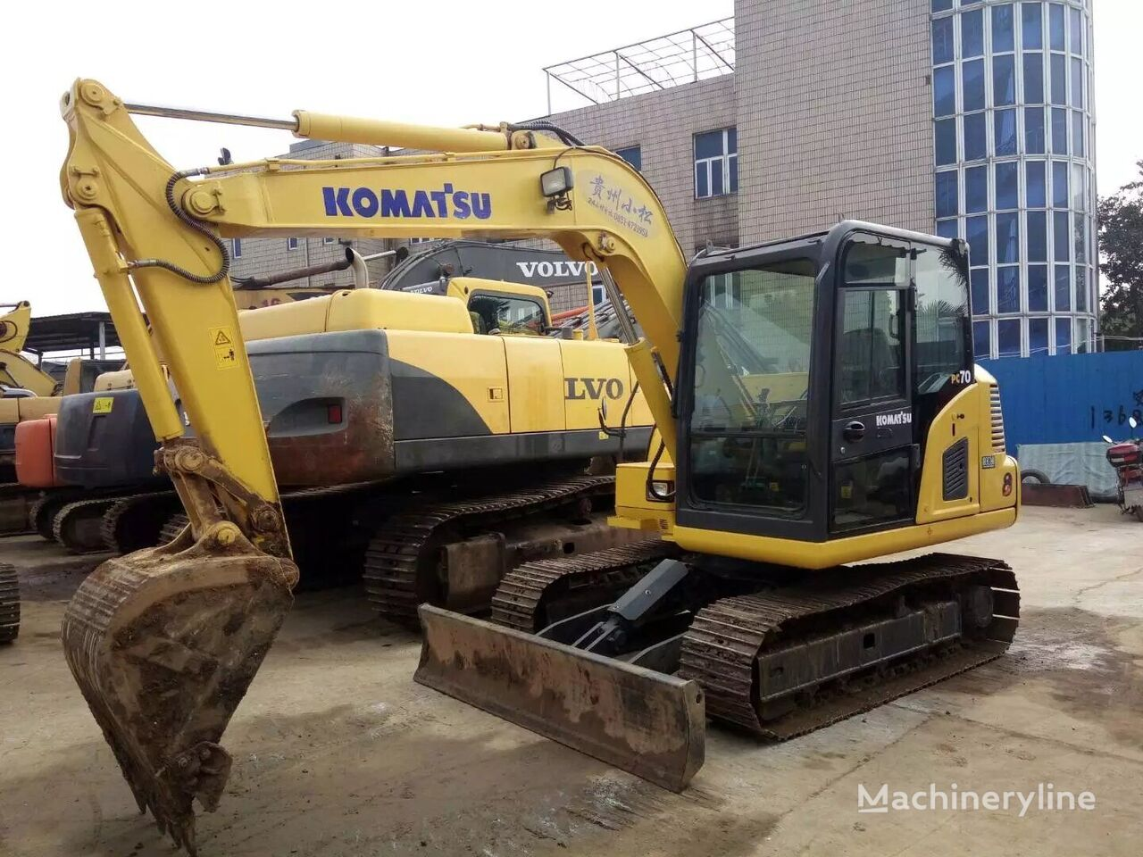 KOMATSU PC60 mini excavator