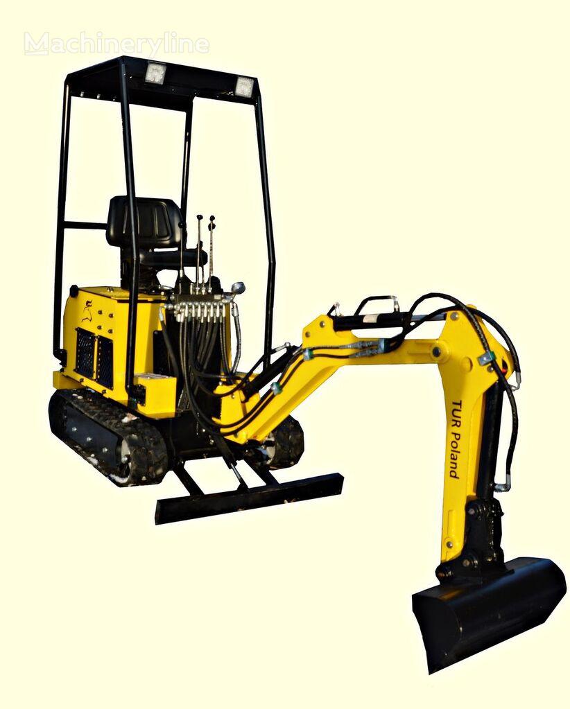 new TUR Poland Minibagger TUR V122 Mini excavator mini excavator