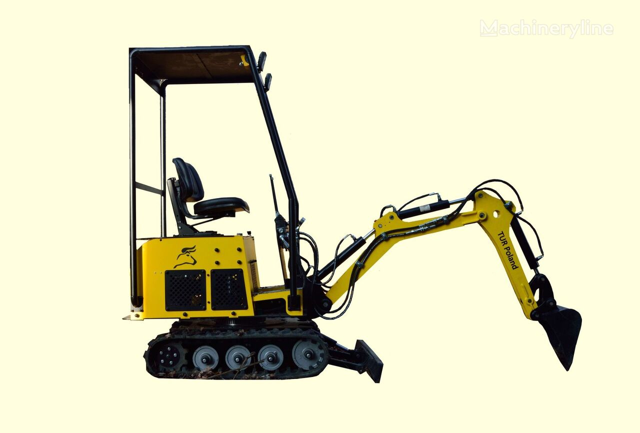 new TUR Poland obrotowa - Minibagger Mini excavator mini koparka TUR V 360 mini excavator