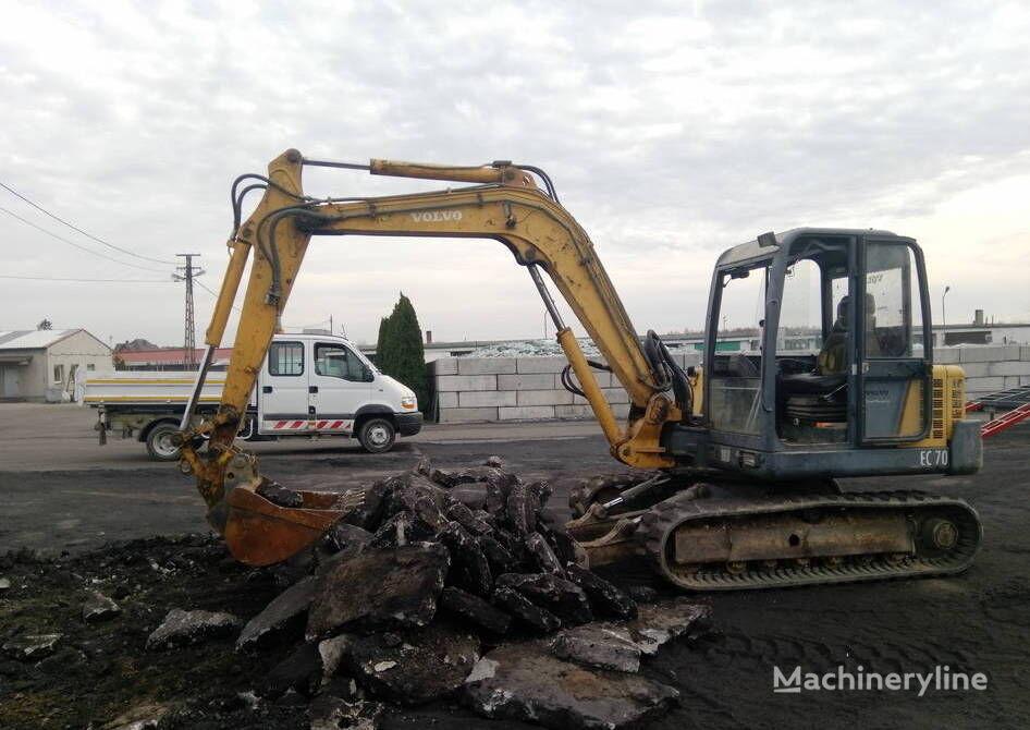 VOLVO EC 70  mini excavator