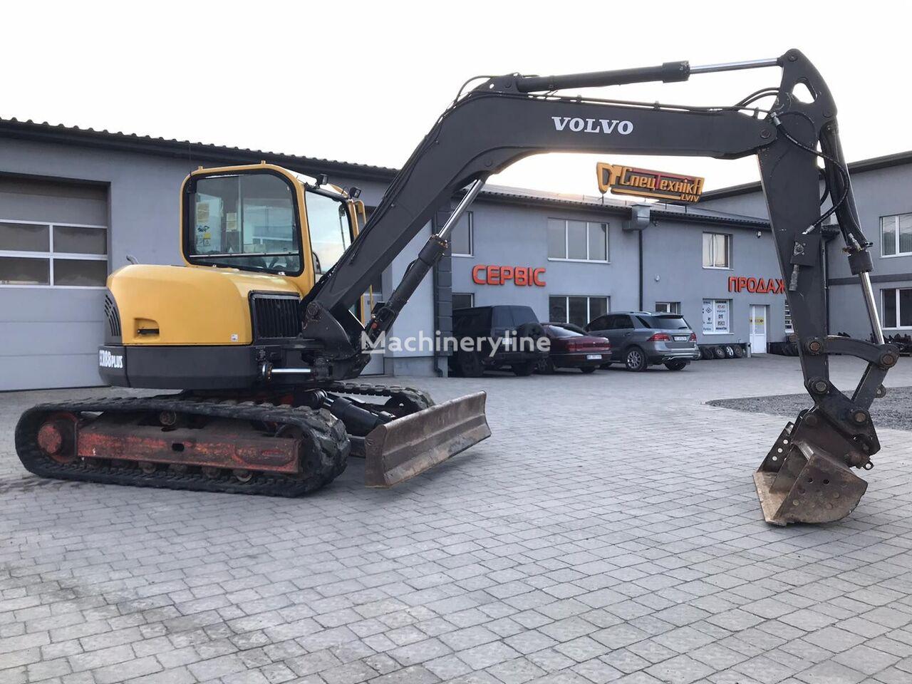 VOLVO ECR88 Plus mini excavator